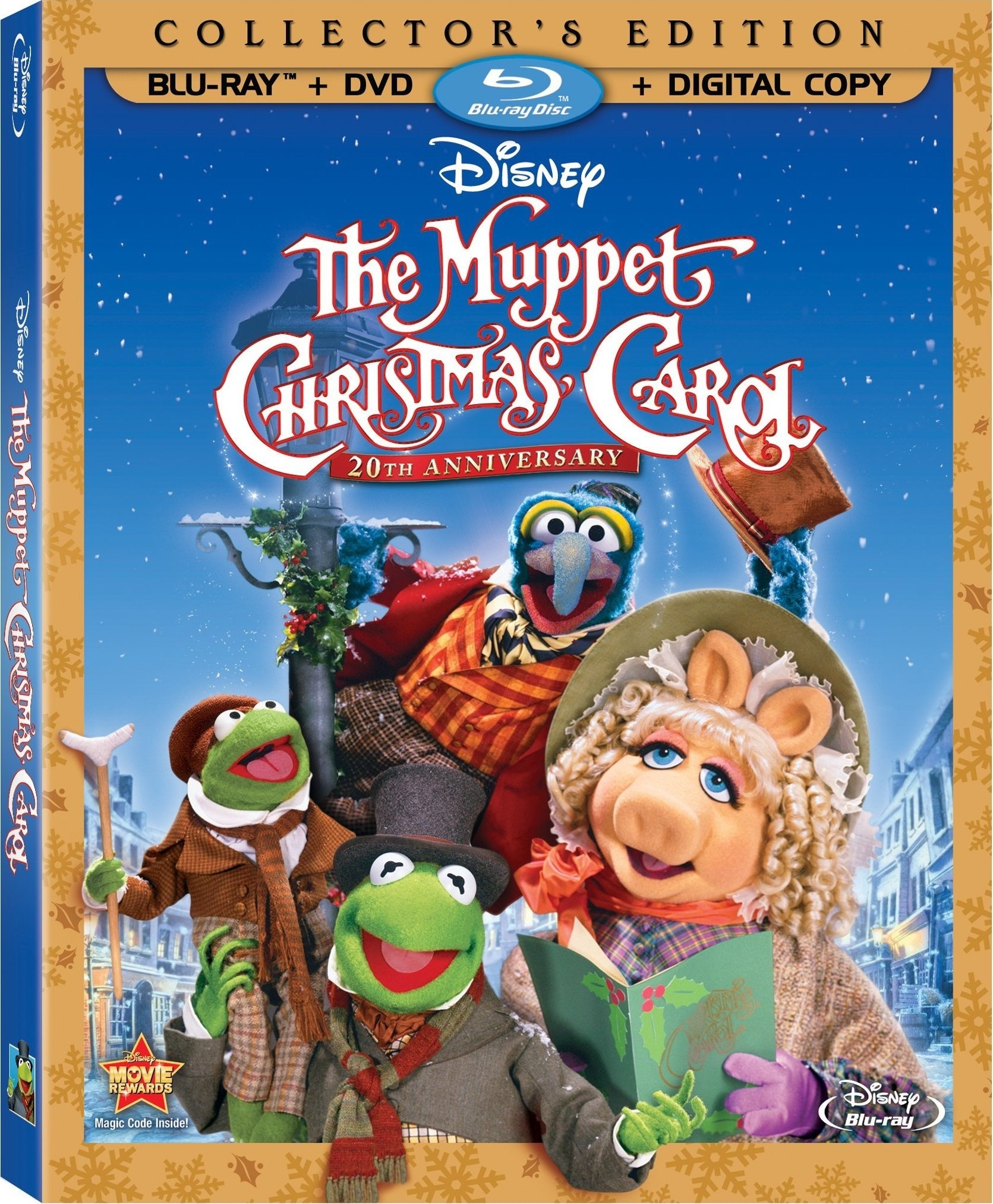 the muppet christmas carol on blu ray - Mickeys Christmas Carol Blu Ray
