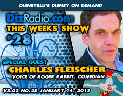 DisneyBlu's Disney on Demand Podcast Show #28 w/ special Guest CHARLES FLEISCHER