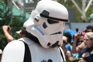 The 501st bring their Trooper flair to Star Wars Weekends