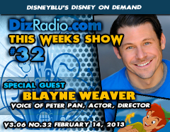 DisneyBlu's Disney on Demand Podcast Show #32 w/ Special Guest BLAYNE WEAVER