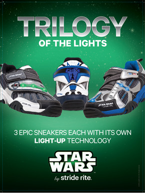 Stride Rite offers Star Wars Shoes