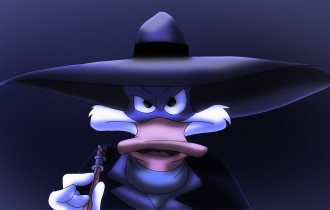 Darkwing Duck: The Terror That Flaps in the Night. (Catch our Interview with Jim Cummings the voice of Darkwing in our Archives of Shows DizRadio.com)