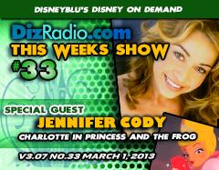 DisneyBlu's Disney on Demand Podcast Show #33 w/ Special Guest JENNIFER CODY