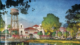 Concept for Disney Springs as part of Downtown Disney