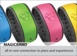 Disney's MagicBands making a Debut
