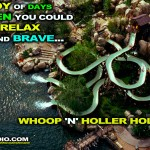 """The Joy of Days When You Could Relax, and Brave ... Whoop 'N' Holler Hollow!"""
