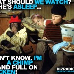 """What Should We Watch? She's Asleep... I Don't Know. I'm a Chimp and Full on Chicken! (The Barefoot Executive)"