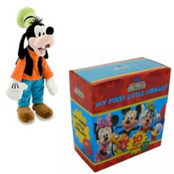 Mickey Mouse Clubhouse Books w/ Goofy Plush from Snazal