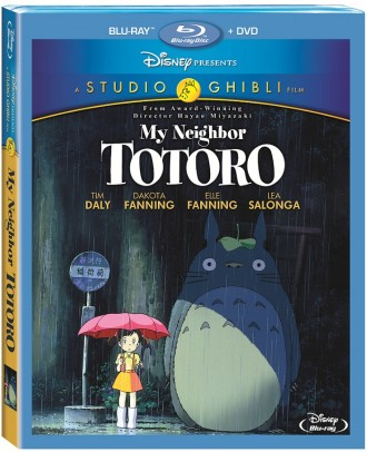 'My Neighbor Totoro' with Dakota and Elle Fanning Hitting Blu-Ray May 21, 2013