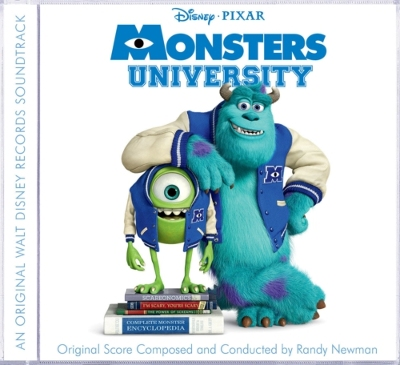 Monsters University Soundtrack.