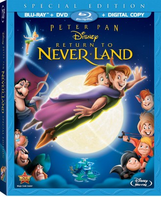 Peter Pan in Return To Neverland Coming to Blu-Ray August 20th