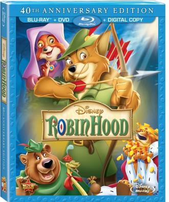 Disney Celebrates Robin Hood's 40th Anniversary on Blu-Ray August 6th