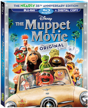 The Nearly 35th Anniversary Edition Blu-Ray of The Muppet Movie