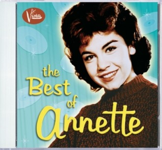 "Walt Disney Records Re-Releases ""Best of Annette"""