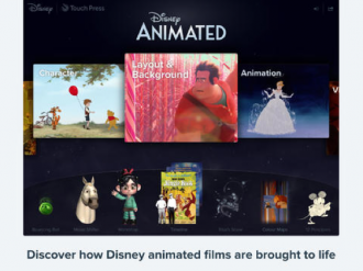 Disney Animated App Available in the App Store