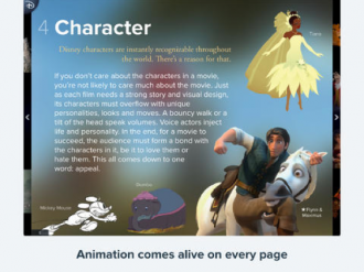 Go Deep Into Character Development in the Disney Animated App