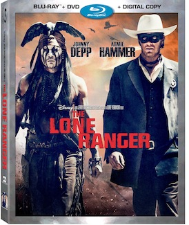 The Lone Ranger arrives on Blu-ray Combo Pack, Digital HD and On-Demand December 17th!