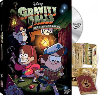 "Gravity Falls ""Six Strange Tales"" on DVD"