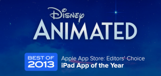 Disney Animated iPad App: App of 2013