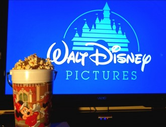 Celebrate with Popcorn and a Disney Family Movie Night