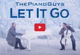 "The Piano Guys ""Let It Go"" (from Disney's Frozen) Knock It Out of the Park!"
