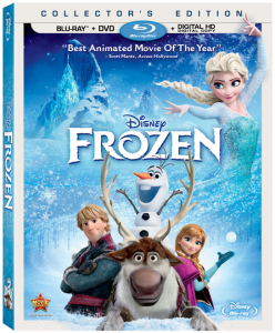 Frozen Now Out on Blu-Ray and Digital