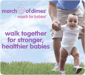 """Walk Together for Stronger, Healthier Babies"""