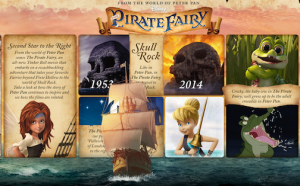 The Pirate Fairy sets sail April 1st