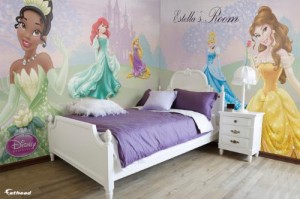 Fathead® Total Coverage™ Offers One-Of-A-Kind Themed Dream Rooms for Disney Fans