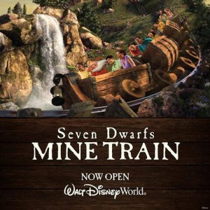 The Mine Train is Open for Visitors to the Magic Kingdom