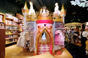 The New Disney Store Princess Castles