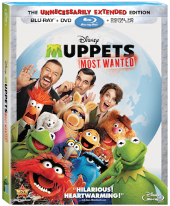 Capture The Muppets Most Wanted on Blu-Ray, Digital HD, Disney Movies Anywhere on August 12