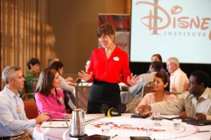 "Disney Institute participants receive training in a classroom setting as well as key examples from a ""living laboratory"" behind the scenes at Walt Disney World"