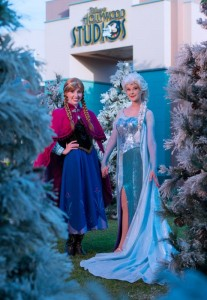 Royal sisters Princess Anna and Queen Elsa, from Disney's Frozen