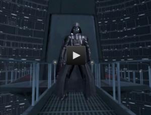 """Star Wars Scene Maker """"Vader"""""""