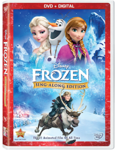 Disney Lights Up Your Holidays With An All-New DVD FROZEN Sing-Along Edition on November 18!
