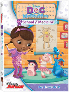 'Doc McStuffins: School of Medicine' coming to DVD September 9 with FREE Dress Up Playset