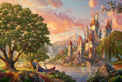 "The Thomas Kinkade Company Announces the Release of the Limited Edition Print ""Beauty and the Beast II"""