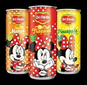 New Minnie Mouse Del Monte Drinks