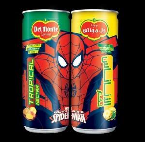Del Monte Spiderman Drink