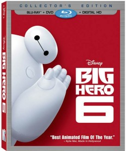 Disney's Big Hero 6 Arrives on DMA 02/03 and Blu-ray 02/24 with FROZEN Easter Eggs