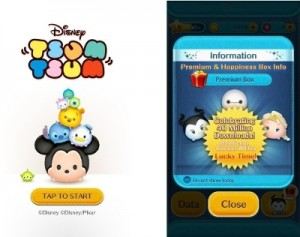 Casual Puzzle Game LINE: Disney Tsum Tsum Reaches 40 Million Downloads Worldwide