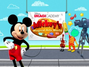 Disney Launches Suite of Creative Arts Apps Tied to Disney Imagicademy Learning Brand