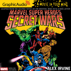 One of the biggest comic events in MARVEL's history now available in GraphicAudio A Movie In Your Mind Audiobook Format