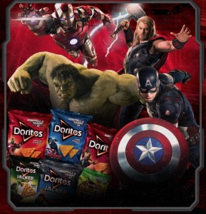 "Doritos Brand Invites Avengers Fans To Be Bold And Find Their Inner Super Hero To Celebrate Release Of Blockbuster ""Marvel's Avengers: Age Of Ultron"""