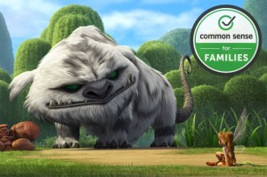 Tinker Bell and the Legend of the NeverBeast is the first direct-to-home release to be recognized with the Common Sense Seal