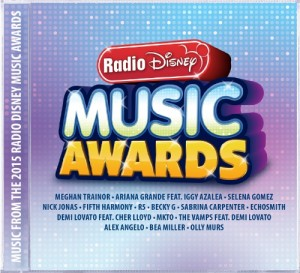 Walt Disney Records Set To Release The 2015 Radio Disney Music Awards Album On April 21