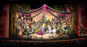 "The Magic of ""Tangled"" Shines Onstage in Brand-New ""Tangled: The Musical"" Stage Show Aboard Disney Cruise Line"