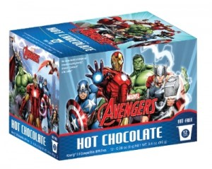 The Avengers Hot Chocolate for All Ages