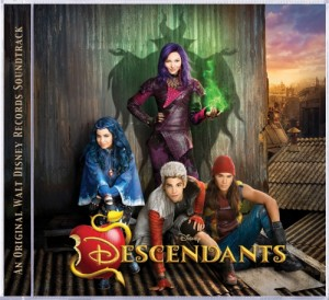 "Disney's ""Descendants"" Soundtrack Available On Walt Disney Records July 31"